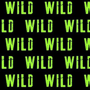 WILD (bright green) C19BS