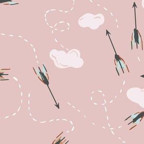 Arrow Flight (mushroom pink) MED
