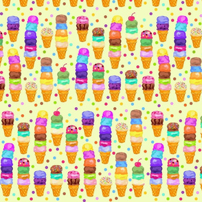 Ice-Cream Cones Galore