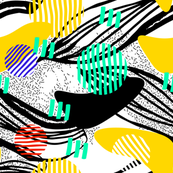 african_pattern_fat_leaves_black_designedbypereira