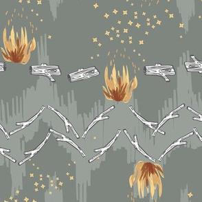 Woodfall Campfire (sage) MED