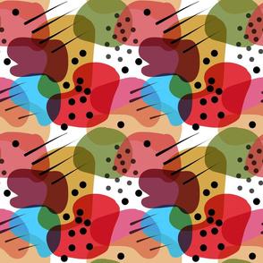 Retro Abstract Shapes #2