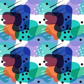 Retro Abstract Shapes #3