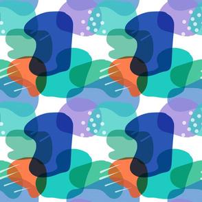 Retro Abstract Shapes #4