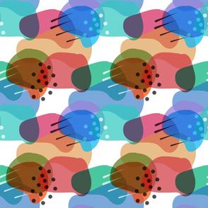 Retro Abstract Shapes #6