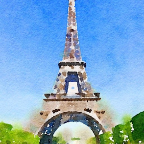 Watercolour Paris