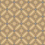 Retro circles (small, yellow)