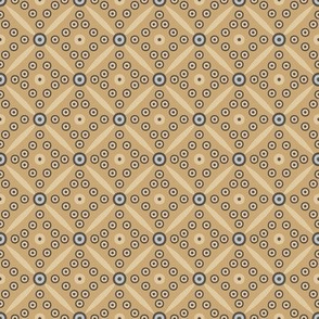 Retro circles (yellow)