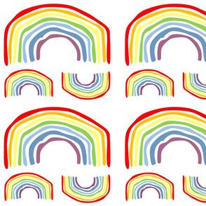 Uneven rainbow