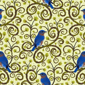 Sassafras Bluebird - Large