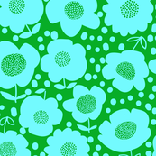 Buttercups_GrassGreen/PoolBlue
