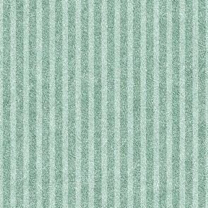 Leaf Green on Green Faux Velvet Stripes