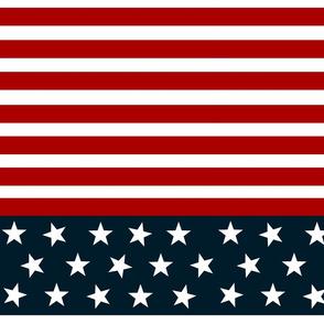 red white blue stars stripes- LG 12