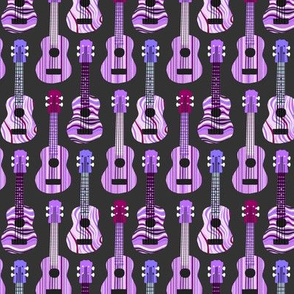 Purple Ukuleles