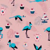 Flamingo Tea Party