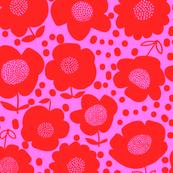 Buttercup_Fuchsia/Red