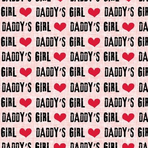 Daddy's girl - pink - C19BS