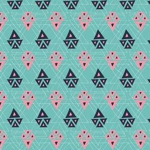 Aztec Jewel pink aqua