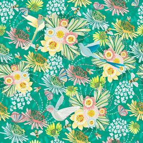 Springtime Buzz Vivid Green