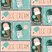 Vintage Ice Cream Sign