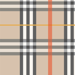 Beige Plaid