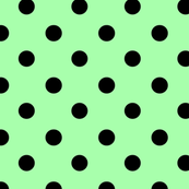Mint and Black Spot
