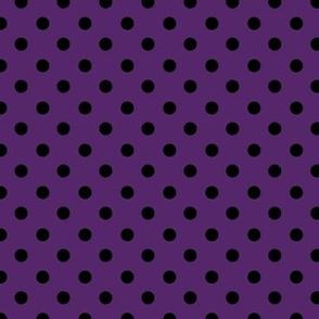 Purple and Black Spot