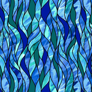 Stained Glass Waves