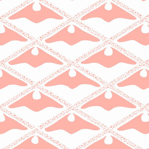 jumbo fossil bark - pink blush