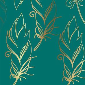 turq feather