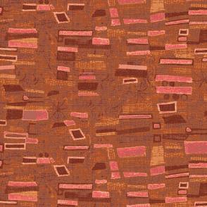 homage_klimt_rust-pink