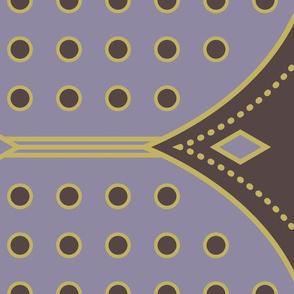 Art Deco Border Purple-01