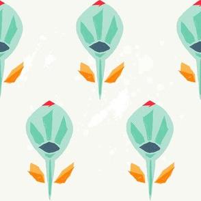 Tulipanes verdes