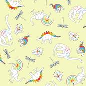 Dinosaurs Like Rainbows Too!