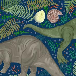 Paleontology Pals LARGE SCALE BLUE