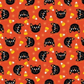 Candy Corn Cats