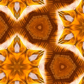 Kaleidoscope in Orange