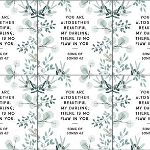 6 loveys: you are altogether beautiful my darling // eucalyptus