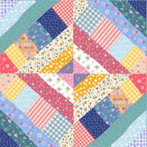 Kaleidoscope Crazy Quilt