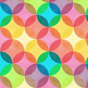 Pastel Circle Dots Forever