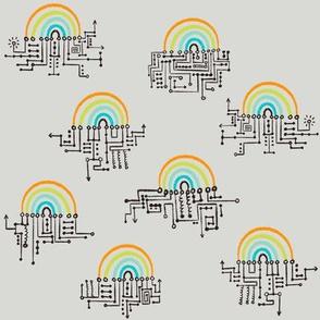 """Rainbow circuit 8"""""""