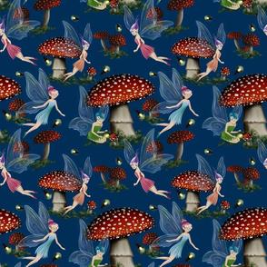 Fairy's Mushroom Garden
