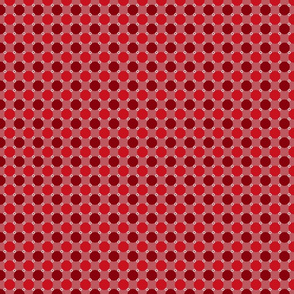 Civil War Reproduction Fabric - Red
