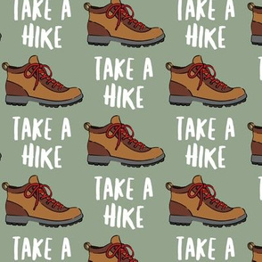 hiking - hiking boot - take a hike - sage LAD19