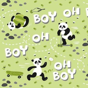 boy oh boy! green