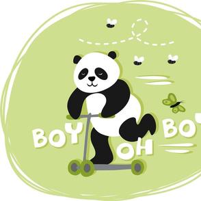 boy oh boy! green centerpiece