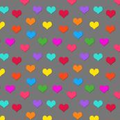 I Heart Colours!  Grey, medium