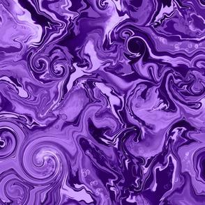 Fluid Swirls in Purple