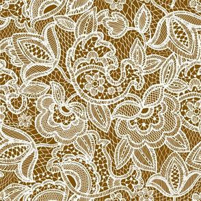 copper lace // pantone 19-16