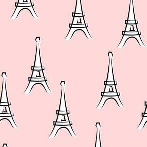 Eiffel Tower - take me to Paris - pink LAD19